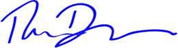 Tom Dyson, Signature